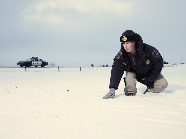 Allison Tolman as Molly Solverson, an overskilled, small-town cop. Photo courtesy of FX Network
